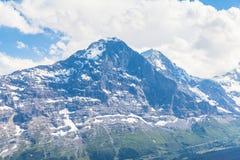 Eiger Nordgesicht Stockbilder