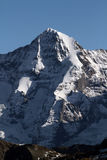 Eiger Northface. In the Swiss alps stock photos