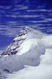 Eiger peak. The peak of Eiger from the Jungrajoch station Royalty Free Stock Photos