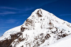 Eiger peak in the Jungfrau region Stock Photography