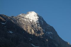 Eiger in summer Royalty Free Stock Image