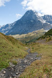 The Eiger in the Swiss Alps Stock Images
