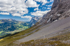 The Eiger Trail Royalty Free Stock Photography