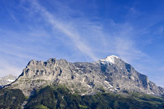 Eigernordwand Photographie stock