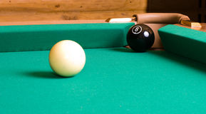 Eight ball. Stock Images
