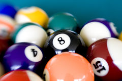 Eight Ball 2 stock photo