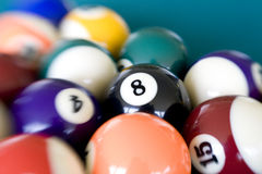 Eight Ball 3 Royalty Free Stock Photo
