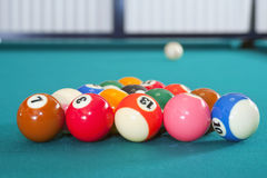 Eight ball pool Royalty Free Stock Photo