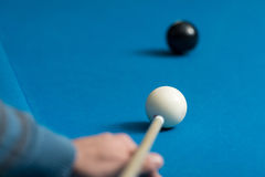Eight Ball Shot Stock Images