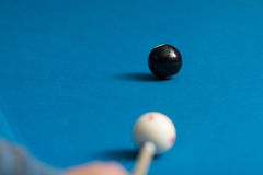Eight Ball Shot Royalty Free Stock Images