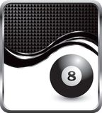 Eight Ball Swoosh Template Royalty Free Stock Photo