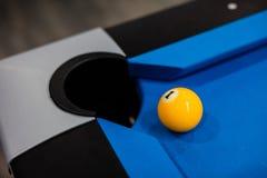 Eight balls billiards Royalty Free Stock Photos