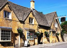 Eight Bells Inn, Chipping Campden. stock image