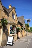 Eight Bells Inn, Chipping Campden. Royalty Free Stock Photo