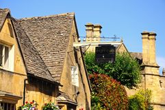 Eight Bells Inn, Chipping Campden. Stock Images