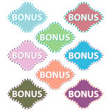 Eight bonuses Stock Photos