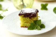 After eight cake Royalty Free Stock Images