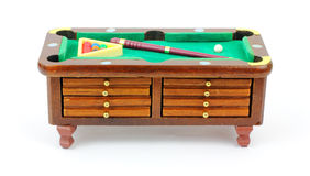 Eight Coaster Pool Table Chest Stock Images