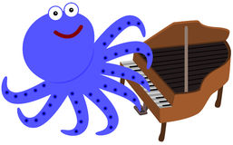 Eight legs and a piano Stock Image