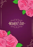 Eight 8 of March, Women's Day background Royalty Free Stock Photography
