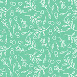 Eight March womens day seamless pattern. Royalty Free Stock Photos