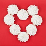 Eight meringue Stock Image