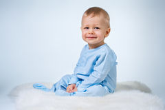 Eight month baby Royalty Free Stock Image