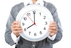 Eight o'clock Stock Image
