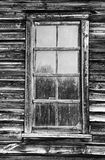 Eight paned old window frame Royalty Free Stock Images