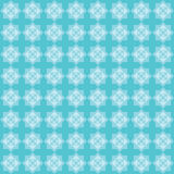 Eight pointed star blue pattern Royalty Free Stock Photos