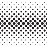 Eight Pointed Star Pattern, Black & White Designing Element Stock Photography
