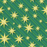 Eight-pointed stars Seamless Pattern Vector Royalty Free Stock Image