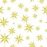 Eight-pointed stars Seamless Pattern Vector Royalty Free Stock Images