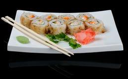 Eight rolls Stock Photo