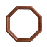 Eight sided frame Royalty Free Stock Photos