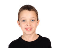 Eight year old boy Royalty Free Stock Photos