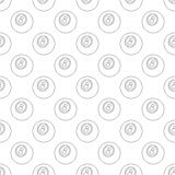 Eightball pattern seamless. Black for any design Royalty Free Stock Photography