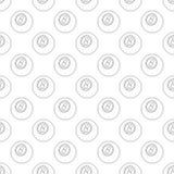Eightball pattern seamless Royalty Free Stock Photography