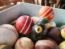 Eightball Vintage Attic Find Royalty Free Stock Photos