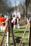 Eighteen Century Muskets Royalty Free Stock Photos