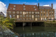The eighteen century, Three Mills complex, London Stock Photo