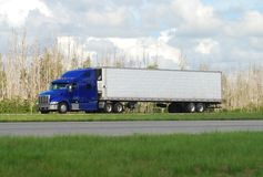 Eighteen wheeler Royalty Free Stock Photography