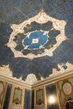 Eighteenth century golden ceiling. Royalty Free Stock Image