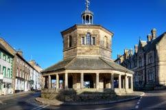 Eighteenth Century Market Cross, Barnard Castle Stock Images