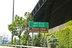 Eighteenth Drive Street Sign Stock Photo