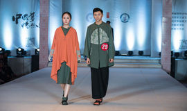 Eighteenth series color spell-Fashion Show Stock Images
