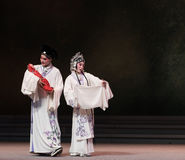 "The eighth act getting a new born child-Kunqu Opera""Madame White Snake"" Royalty Free Stock Photo"