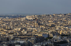 Eighth arrondissement of Paris and the Church of St. Augustine Stock Photography