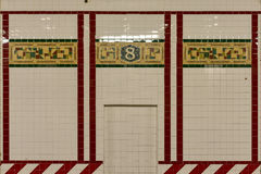 Eighth Avenue Subway Station - New York City Royalty Free Stock Images