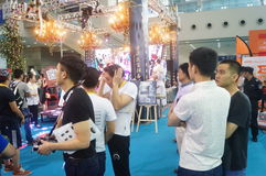 The Eighth China Shenzhen International Brand Franchise Exhibition Stock Images